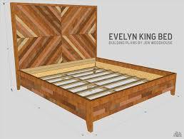 Diy King Size Platform Bed Plans Platform Bed Plans With Nightstand