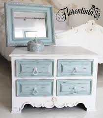 white furniture shabby chic. Exellent Chic Shabby Chic Cabinet In White Frenchic Furniture Paint With Duck Egg Drawers Inside