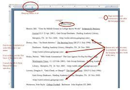 Essay Work Cited Mla Format Custom Paper Example