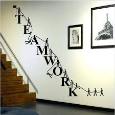 office wall stickers. Office Wall Decal Ideas Cooperate Teamwork Stickers Home Decor Decals For Company Decoration . T