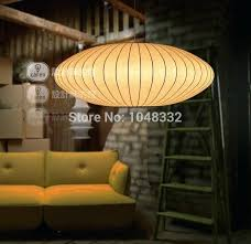 george nelson bubble lamp the iconic nelson saucer lamp in the room of the week george