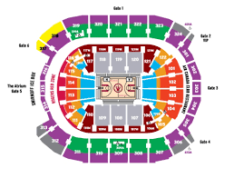 Raptors Courtside Seating Chart 52 Interpretive Air Canada Centre Row Chart