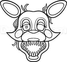 how to draw mangle from five nights at freddys 2 step 10