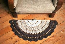 half circle rug half circle rugs crochet half circle rug small moon pattern for round rare half circle rug