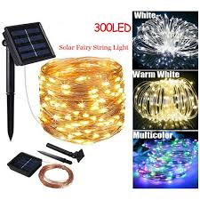 30m led solar string lights waterproof