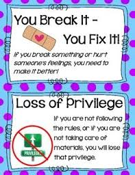 Logical Consequences Anchor Chart Cards Classroom