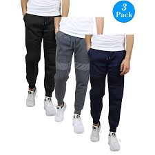Galaxy By Harvic Size Chart Galaxy By Harvic Mens Slim Fit Fleece Moto Joggers 3 Pack S 2xl