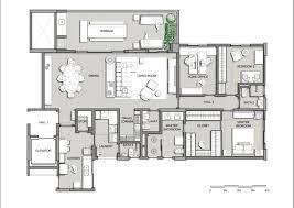 interior plan in nice design floor digital art gallery plans