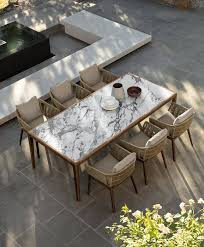 designer outdoor kitchen and dining