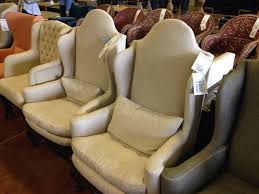 four hands furniture outlet. Like The Camelback Shape Of These Linen Wing Chairs And There Was Surprise Intended Four Hands Furniture Outlet
