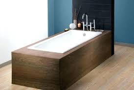 bathtub cast iron weight kohler villager white rectangular skirted drop in bath tub