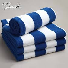 100% хлопковое пляжное <b>полотенце 80x150</b> см в сине белую ...