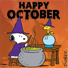Image result for hello october  clip art