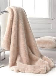 Light Pink Fur Throw Blanket Blush Mink Faux Fur Limited Edition Throw Blankets Cozy