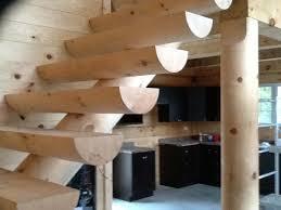 décoration de bois rond