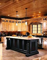 log cabin kitchens cabinets photos of a modern house kitchen design houses rustic style