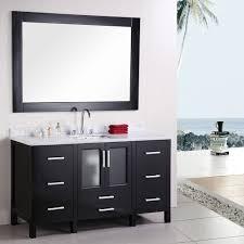 Bathroom Sink : Wonderful Modern Alexander Single Sink Marble ...
