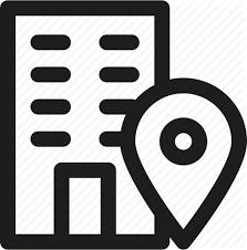 Address Adress Building Company Construction Job Office Icon