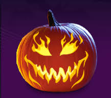 Free Pumpkin Carving Patterns (Scary)