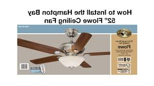hampton bay sidewinder ceiling fan installation manual how install flowe for outdoor lightneasy pendant light fitting