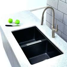 Composite Sink Reviews Granite Vs Stainless Steel Remarkable  Kitchen Sinks  H2
