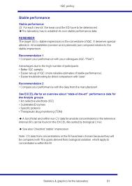 Statistics Graphics For The Laboratory 54 Metrological Basis Of