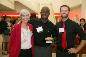 photos page where awesome happens mba alumni and students enjoy networking at tdecu stadium