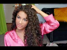 Hairstyles For Long Curly Hair 14 Wonderful How To Style Curly Hair Curly Hair Routine YouTube