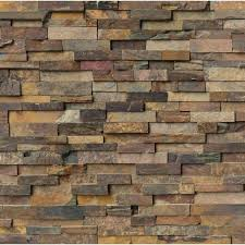 home depot wall tile the dramatic relief of this slate tile will make a bold decor