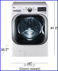 new gas dryer. Exellent Gas New LG FRONT LOAD 52 MEGA WASHER And STEAM GAS DRYER WHITE STACKABLE UNIT In Gas Dryer E
