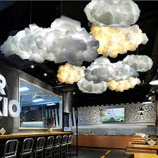 1 x cloud pendant light bulb is not included
