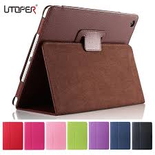 for apple ipad 2 3 4 case auto sleep wake up flip litchi pu leather cover for new ipad 2 ipad 4 smart stand holder folio case