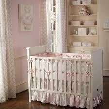 pink and taupe damask crib bedding