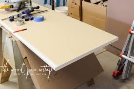office countertops. Building Our Office Desk By The Wood Grain Cottage Countertops