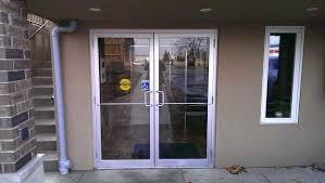 double door exterior surprising commercial glass double doors exterior for modern house with commercial glass double