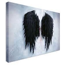 angel wings wall art london