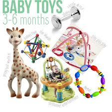 best toys for 3 6 month old baby