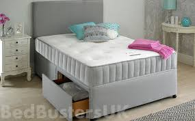 Creative Of Grey Headboard Double Bed Grey Fabric Divan Bed Set Headboards Double Bed