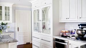 mirrored refrigerator doors