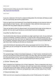 Telecommuter Jobs Telecommuter Jobs By Celia Fuhrer Issuu