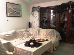 decorating a living room. Living Room Halloween Decorating A