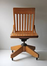 vintage office chair. Lovable Oak Office Chair Vintage On Casters Throughout Desk Designs 2