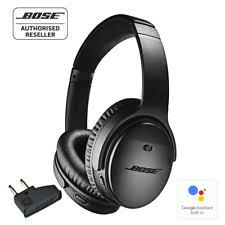 bose noise cancelling headphones blue. bose qc35 ii wireless noise cancelling headphones black with airline adapter bose blue