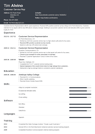 Resume Samples For Customer Service Representative Customer Service Resume Sample Complete Guide 20 Examples