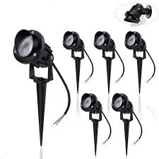 One Landscape Light Not Working Aloveco Landscape Lighting Low Voltage 12v 24v Led Landscape Lights Ip66 Waterproof Outdoor Landscape Spotlights Aluminum Metal Made With Spike For