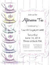 Invitation Template For Word Inspiration Free Tea Party Invitation Template Word Invitations Ralphlaurens