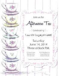 Invitation Templates Word Interesting Free Tea Party Invitation Template Word Invitations Ralphlaurens