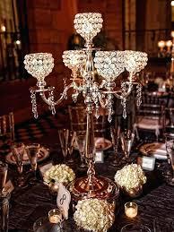table chandelier centerpiece