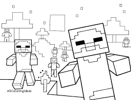 Minecraft Color Page Color Pages Printable Coloring Pages To Print