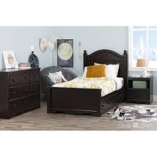 Savannah Bedroom Furniture South Shore Savannah Twin Panel Bed With Storage Reviews Wayfair